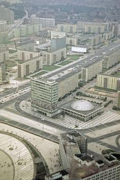 Um 1970. Berlin-Ost. Alexanderplatz | by Erhard K.