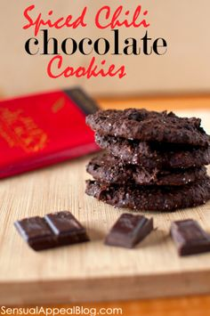 Spiced Chili Chocolate Cookies (vegan & gluten free)