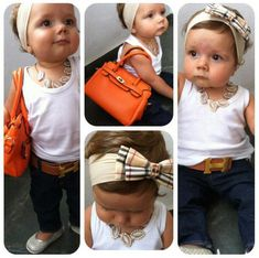 @Courtni C C Denton - You must do this with your daughter! 27 Stylish And Cute Babies