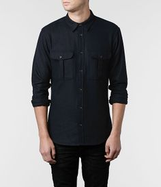 Mens Newark Shirt (Ink)