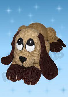 Mesmerizing Crochet an Amigurumi Rabbit Ideas. Lovely Crochet an Amigurumi Rabbit Ideas. Crochet Toys Patterns, Amigurumi Patterns, Stuffed Toys Patterns, Crochet Crafts, Crochet Projects, Crochet Hook Sizes, Crochet Hooks, Snuggle Dog, Dog Eyes