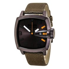 Freestyle 101175 Men's Shark The Jester Brown Dial Brown Leather Strap Watch