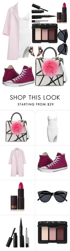 """""""Untitled #34"""" by cemlais22 on Polyvore featuring Les Petits Joueurs, Paul Smith, Converse, Lipstick Queen, Le Specs, Marc Jacobs, NARS Cosmetics, Nak Armstrong, women's clothing and women"""