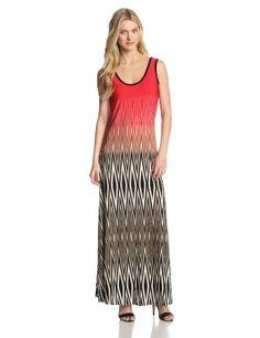 Calvin Klein Women's Printed Maxi Dress, Cream/Black/Pink, L Calvin Klein http://www.amazon.com/dp/B00H2B8RFA/ref=cm_sw_r_pi_dp_SkCItb060302Z7RK
