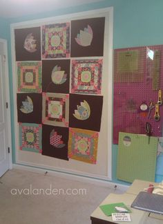 PVC Pipe Portable Quilt Design Wall | Quilting Techniques ...