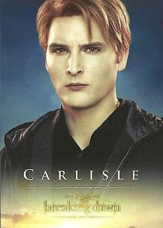 Carlisle Cullen. I wonder if this is how he should've looked...  тωιℓιgнт