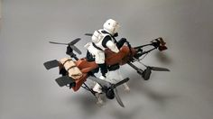 """HOBBY: TECH: STAR WARS: DRONE: HANDMADE: COOL: This Guy Turned A Quadcopter Into A Star Wars Speeder Bike And It's Amazing   TechCrunch Posted Mar 13, 2015 by Greg Kumparak (@grg) Okay, this is the last quadcopter-to-""""Star Wars Universe""""-thing we (or at least I) will post*, I promise. BUT SERIOUSLY, LOOK AT THIS THING. It is perfection. About 30 seconds into the video, I actually stood up and whooped. We've seen the Millenium Falcon quadcopter. We've seen a TIE Interceptor quadcopter. But a…"""
