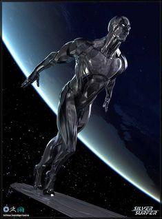 Além Marvel Art, Surfer Art, Character Art, Graphic Novel Art, Marvel Dc Comics, Comics Artwork, Superhero Comic, Marvel Comic Universe, Art