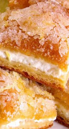 Lemon Cream Cheese Bars. A new approach to a classic dessert - yum!
