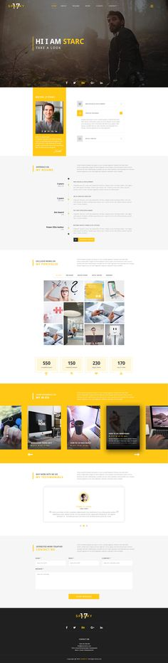 Sparky17-Multipurpose Business Agency/Personal Portfolio PSD Template by Nazmul_shohag