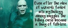 """<a href=""""http://www.buzzfeed.com/krystieyandoli/this-fan-theory-about-the-origins-of-avada-kedavra-in-harry#.hyGZNKZK1d"""">This</a> theory about the etymology of the Muggle word """"abracadabra""""."""