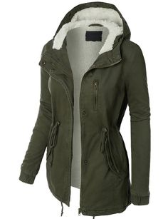LE3NO Womens Military Anorak Safari Jacket at Amazon Women's Coats Shop