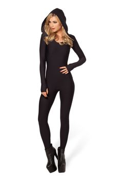 Ninja Hooded Catsuit › Black Milk Clothing (http://blackmilkclothing.com/collections/catsuits/products/ninja-hooded-catsuit)