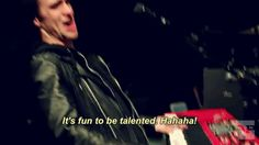 Alternative Press funny panic at the disco brendon urie talented
