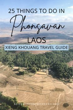 Things to do in Phonsavan, Laos. Includes the Plain of Jars, Old Xieng Khouang, Mulberries Farm, the morning market and more. Full guide to visiting Xieng Khouang Province. #Laos #Phonsavan #XiengKhouang | Things to do in Phonsavan | Things to do in Laos | Laos travel guide | Phonsavan travel guide | Plain of Jars | ALWB Laos Travel, Asia Travel, Laos Culture, Stuff To Do, Things To Do, Laos Food, Vientiane, Luang Prabang, Hot Springs