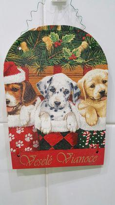 Vianocna tabulka na dvere  Rozmer 20x15 Cena 4,5€