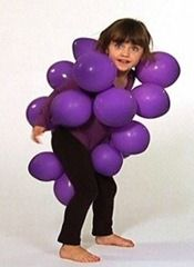 Bunch of Grapes Costume (looks easy!)
