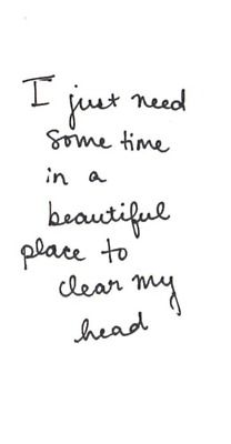 Dont know how 'beautiful' Vegas will be but time away to clear head my head is a must