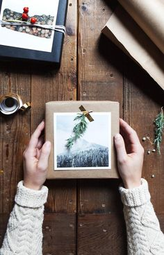Make. Gather. Give.  The new Gift Wrap DIY from @artifactuprsng just might make you the holiday favorite this year. We've got you covered in just a few simple steps (hint: no bows needed).