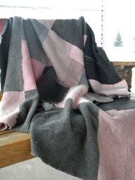 Such a cosy felted blanket by @SeasonsOfWool at Rosy Toes Designs