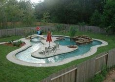 pool with lazy river= must have