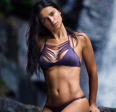 "brazilian-bombshells: "" theyloveadriana: "" Adriana Lima for Victoria's Secret Swim Special Never Forget. Bikini Azul, Bikini Modells, Bikini Babes, Sexy Bikini, Bikini Girls, Purple Bikini Set, Black Bikini, Laetitia Casta, Adriana Lima Victoria Secret"