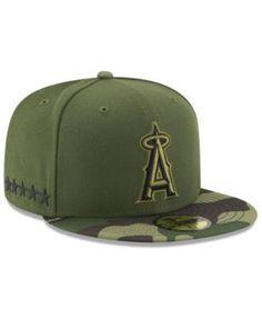1cd15fd3c28 New Era Los Angeles Angels of Anaheim Memorial Day 59FIFTY Cap   Reviews - Sports  Fan Shop By Lids - Men - Macy s