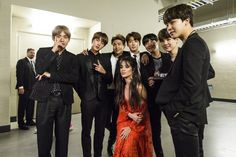 billboard II BTS With Camila Cabello II