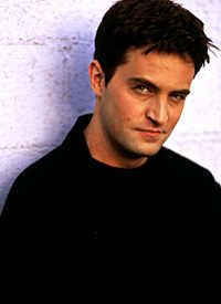 Mathew Perry. He will only ever be Chandler Bing to me... I love Chandler.