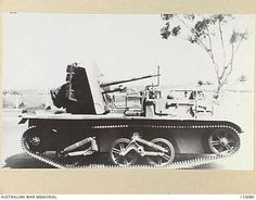 CARRIER, TWO POUNDER, ANTI-TANK. THIS VEHICLE, ONE OF 204 PRODUCED, WAS INTENDED AS A MOBILE TWO POUNDER ANTI-TANK WEAPON BASED ON A NORMAL WEAPONS CARRIER.