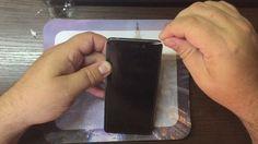 Как наклеить стекло на экран 2,5 D  + жидкость Liquid