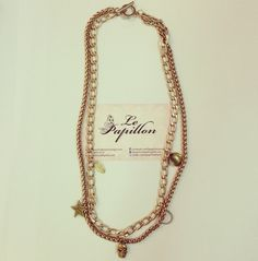 Hollywood Necklace - PhP 1,350 Quantity: 1 pc.   To place an order, please text/iMessage/Viber/WhatsApp/WeChat 0999-8894770 or fill out an order form at http://facebook.com/LePapillonAccessories.