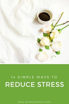Check out these 14 simple ways to reduce stress and combat overwhelm. We all need a mental health break at some point and these tips will help you get there.