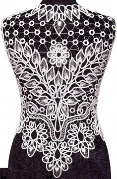 Romanian Point Lace design