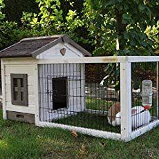 Kaninchenstall Meerschweinchenstall Pretty Home White Antiknaag