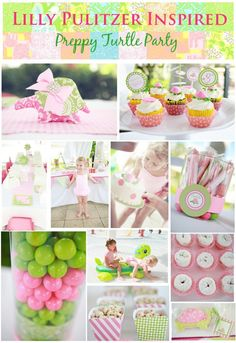 Preppy Turtle Party You may have seen the amazing Lilly Pulitzer inspired birthday party over on Amy Atlas the other day designed by Kori of. Animal Themed Birthday Party, Turtle Birthday, Turtle Party, Birthday Party Themes, Birthday Ideas, Zoo Birthday, Party Fiesta, Baby Shower, Bridal Shower