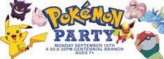 Pokemon Party Library Programming Ideas