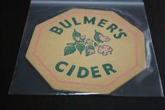 1955 Beermat Bulmers Cider Cat 007 (2P63 11/14)