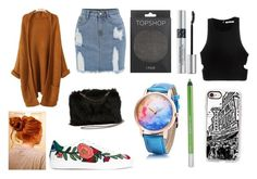"""""""OOTD"""" by hailey-smith-13 ❤ liked on Polyvore featuring Gucci, Topshop, Christian Dior, Urban Decay, Casetify, STELLA McCARTNEY and T By Alexander Wang"""