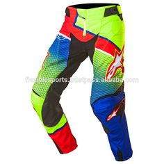 Customized full Sublimated Motocross Pants MX Dirtbike BMX high quality ink quartered