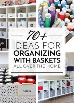 It's no secret that I love to organize. It's something I honestly could do every single day. I love the feeling of taking on a room, closet, drawer (whatever!) and emptying it out item by item… More Kids Clothes Organization, Playroom Organization, Organization Hacks, Organizing Your Home, Organizing Tips, Gift Wrapping Tutorial, Secret Organizations, Cricut Craft Room, Getting Organized