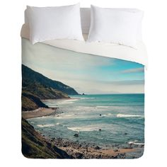 Catherine McDonald California Pacific Coast Highway Duvet Cover | DENY Designs Home Accessories #wanderlust #wanderlustography