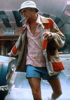"""Johnny Depp as """"Raul Duke"""" in Fear and Loathing in Las Vegas."""