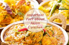 Important Fact about Asian Cuisines Do you know! Our very favorite Chicken Tikka Masala, a popular dish in India, is not Indian. It was invented in Glasgow, Scotland! Although #ChickenTikkaMasala is more British than Indian, it would be tough to find an Indian #restaurant that doesn't have this creamy, bright-orange dish featured prominently on its menu.