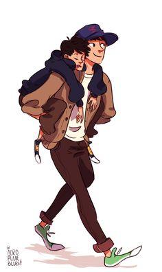 Tadashi and Hiro <3