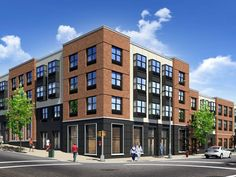Upscale Apartments To Land In Bushwick. Find This Pin And More On Modern  Brick Buildings ...