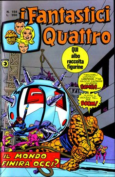Cover for I Fantastici Quattro (Editoriale Corno 1971 series) #154 (Novembre 1976)