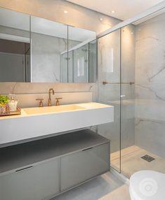 Best 35 Home Decor Ideas - Lovb Chic Bathrooms, Modern Bathroom, Rich Home, Casa Real, Bathroom Interior Design, Interiores Design, Decoration, New Homes, House Design