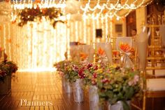A CELEBRATION IN AUTUMN NIGHT - The Plannersvn  #autumnthemedwedding #autumnwedding  More pictures of the wedding at http://theplannersvn.com/en/ho-so/a-celebration-in-autumn-night
