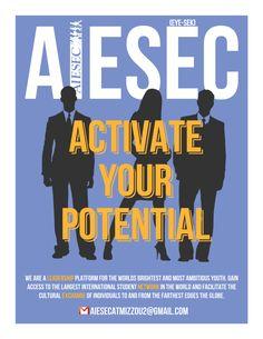 Aaron Mack — Spring 2012 AIESEC Mizzou membership recruitment...